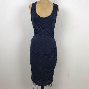 velvet By Graham & Spencer Striped Maternity Dress